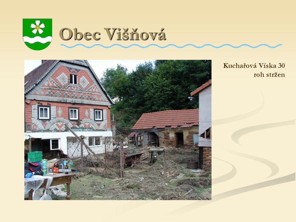 Obec Višňová Kuchařová Víska 30 roh stržen
