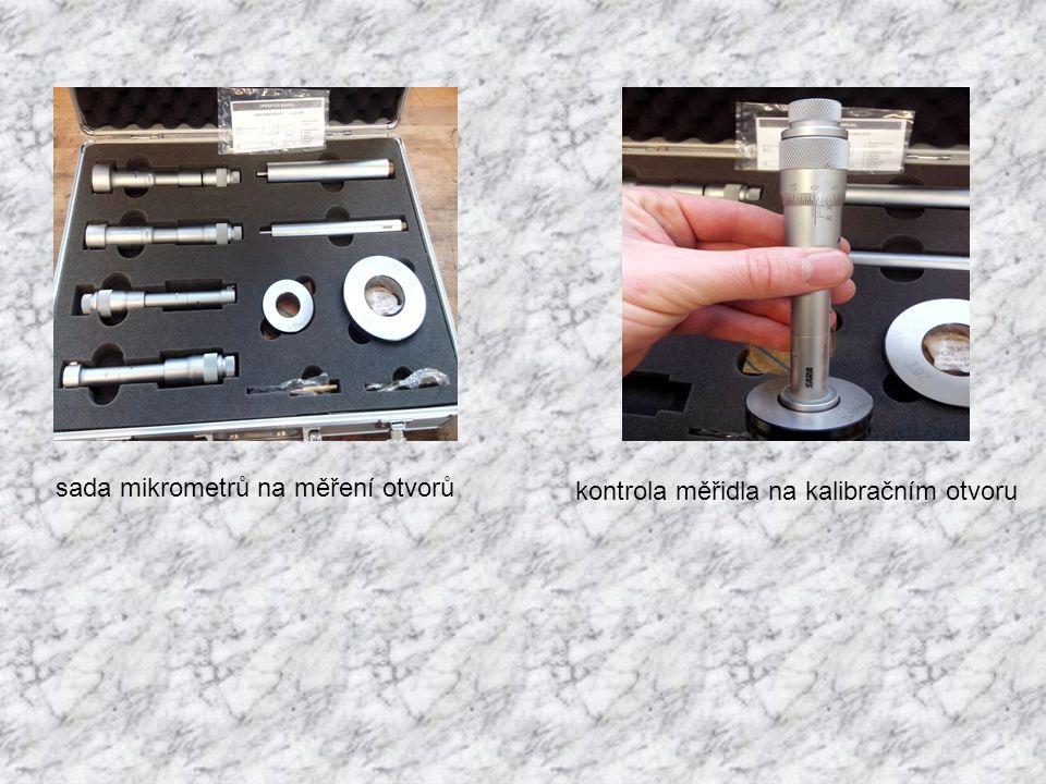 sada mikrometrů na měření otvorů