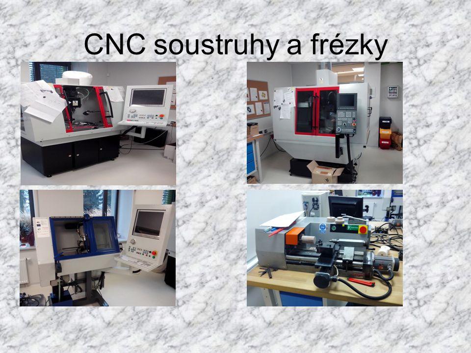 CNC soustruhy a frézky