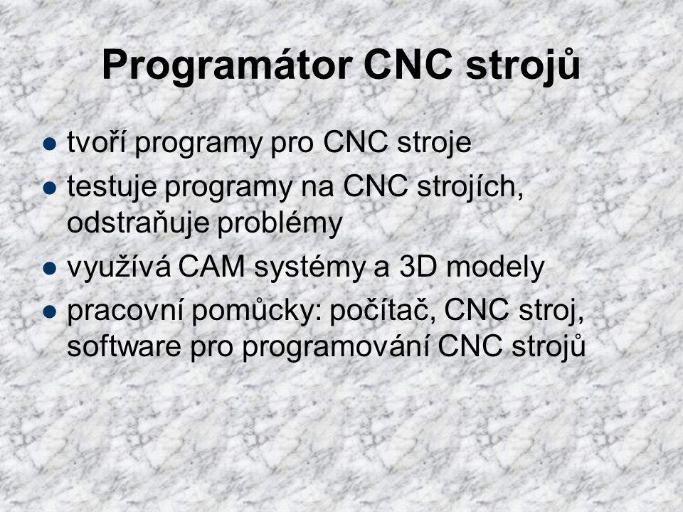 Programátor CNC strojů