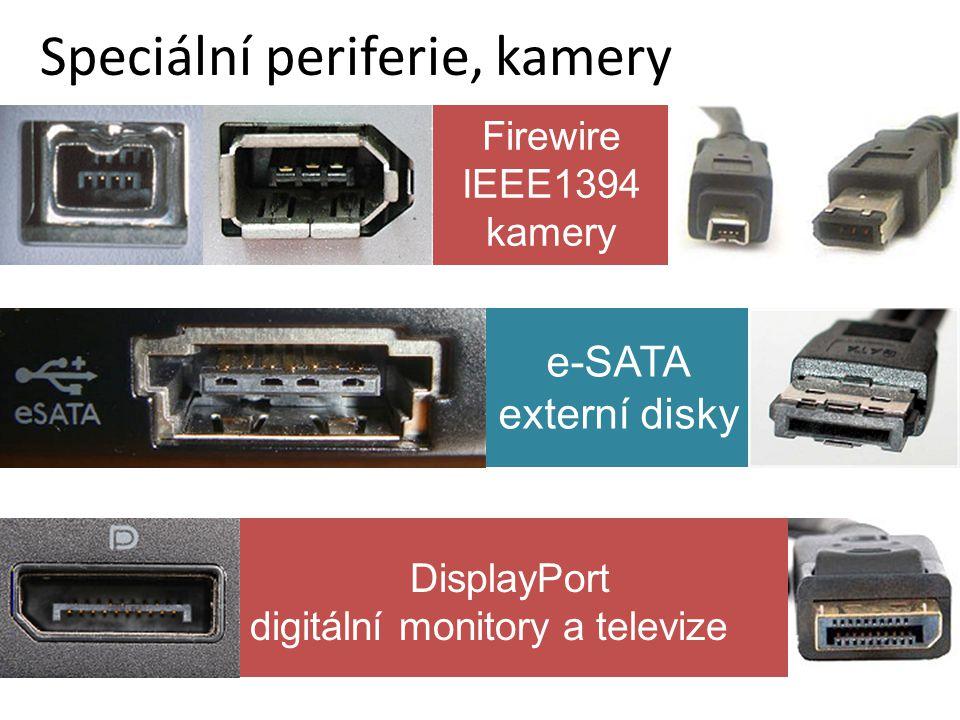 Speciální periferie, kamery