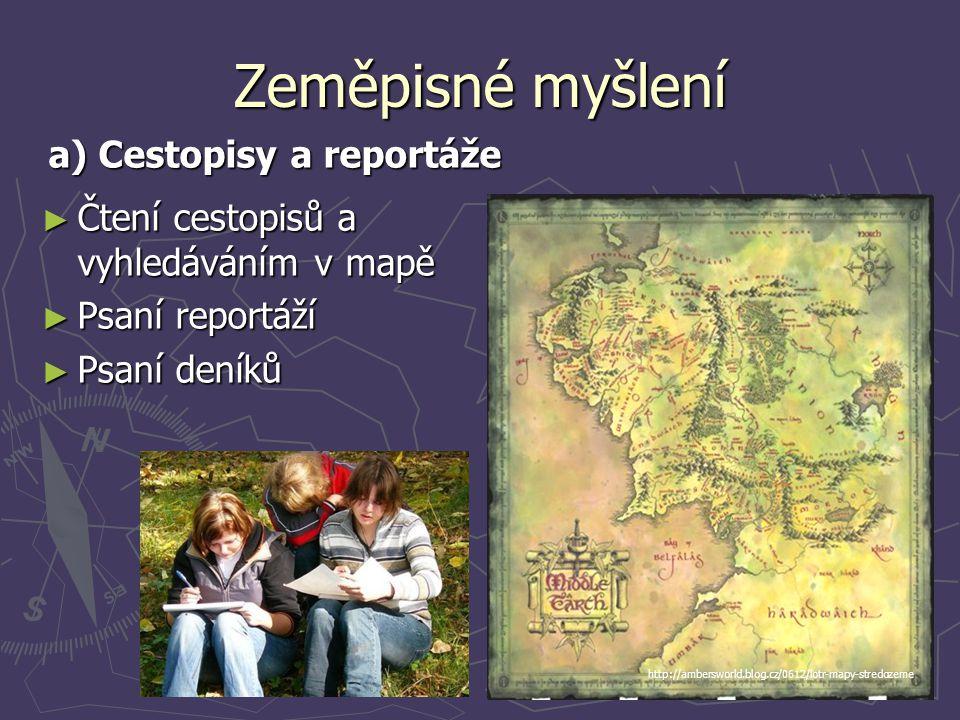 a) Cestopisy a reportáže
