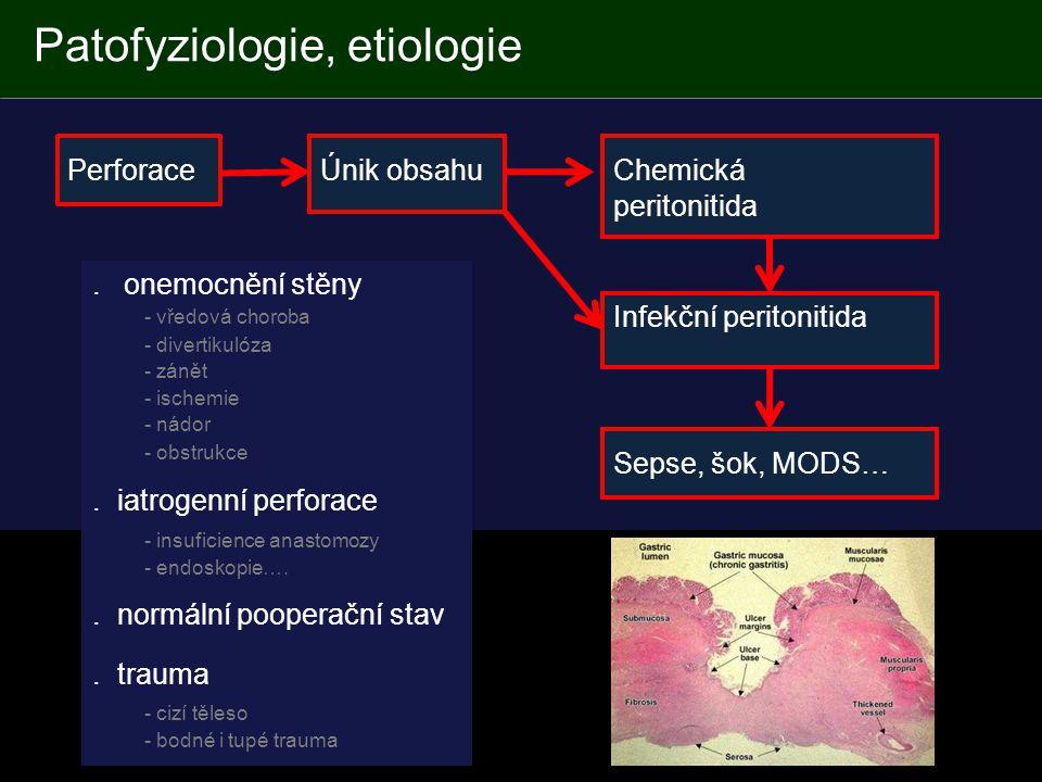 Patofyziologie, etiologie