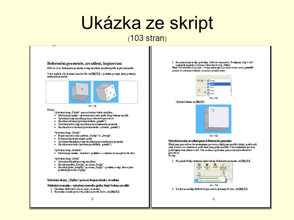 Ukázka ze skript (103 stran)