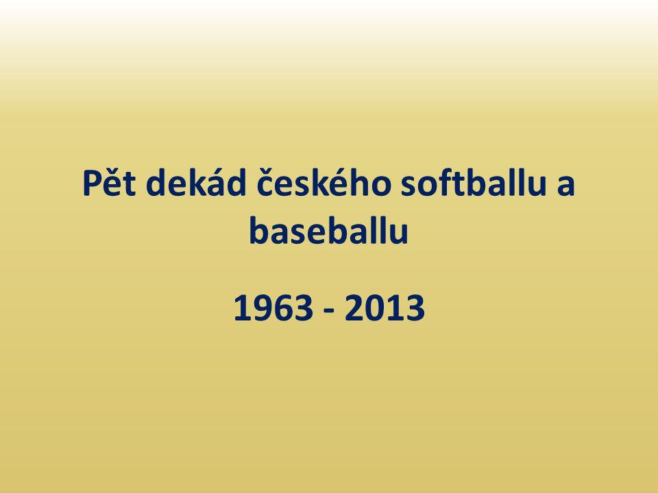 Pět dekád českého softballu a baseballu
