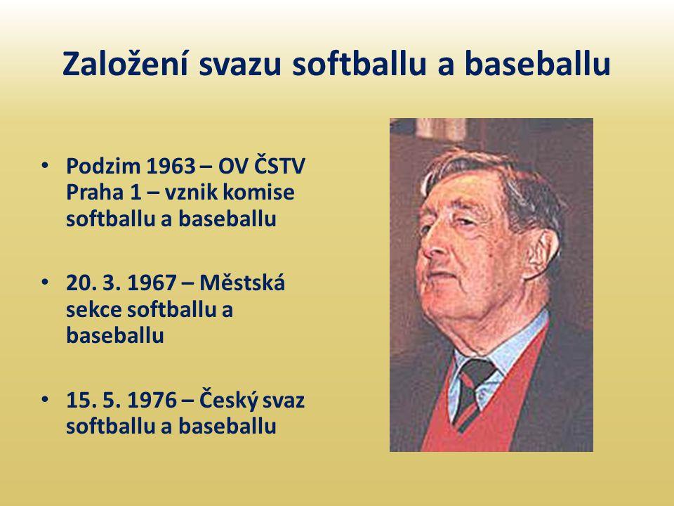 Založení svazu softballu a baseballu