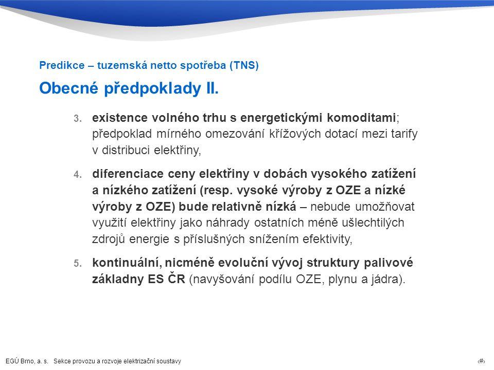 Predikce – tuzemská netto spotřeba (TNS)