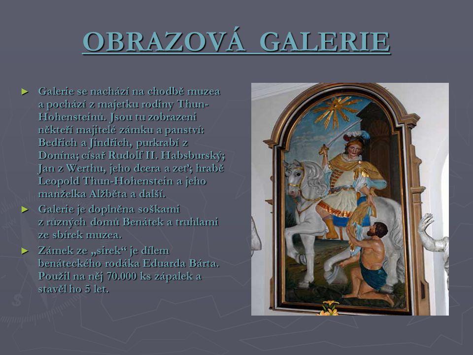 OBRAZOVÁ GALERIE