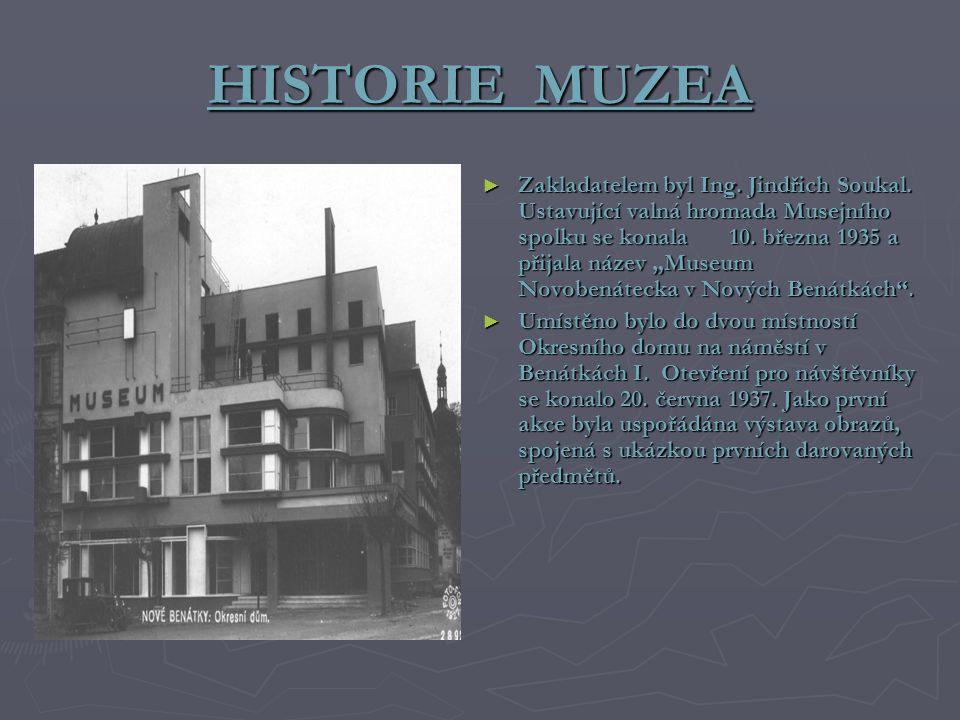 HISTORIE MUZEA