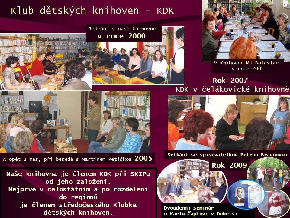 Klub dětských knihoven - KDK