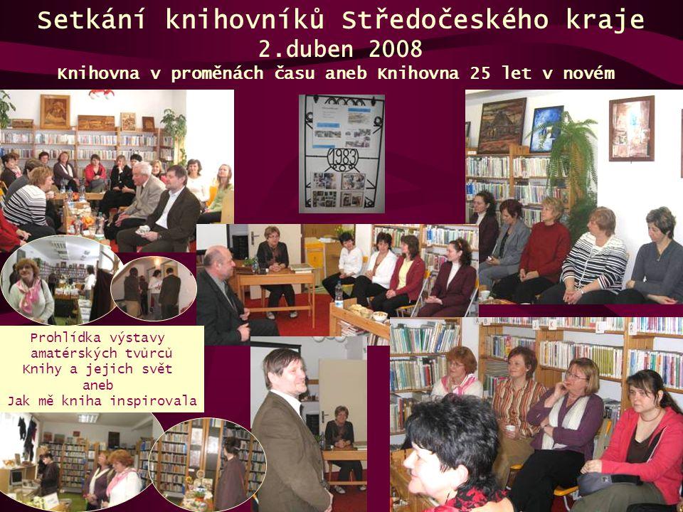 Setkání knihovníků Středočeského kraje