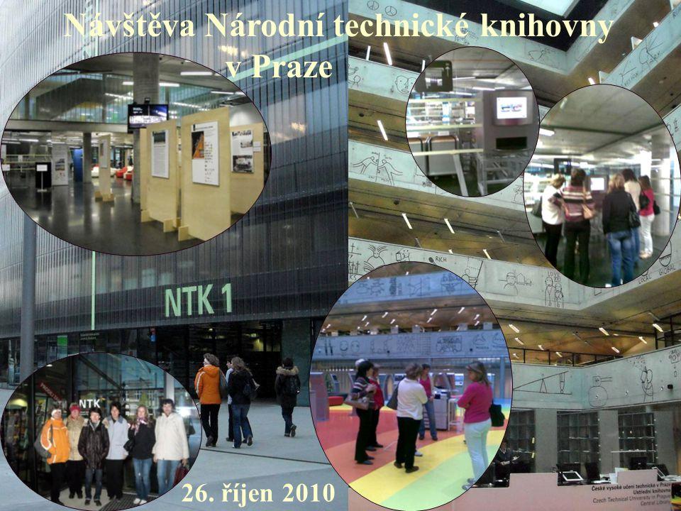 Návštěva Národní technické knihovny v Praze