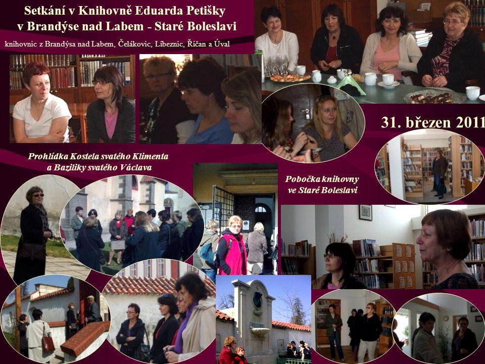 31. březen 2011 Setkání v Knihovně Eduarda Petišky