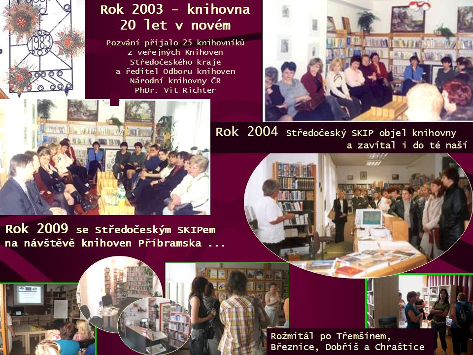 Rok 2003 - knihovna 20 let v novém