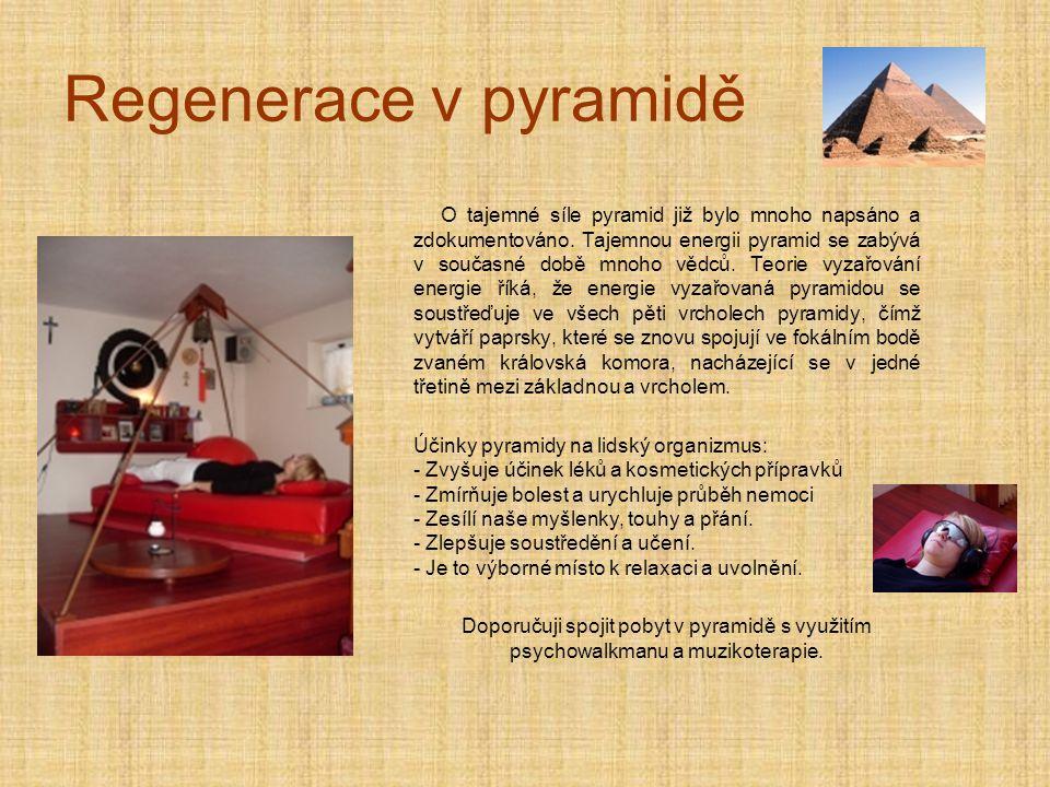 Regenerace v pyramidě