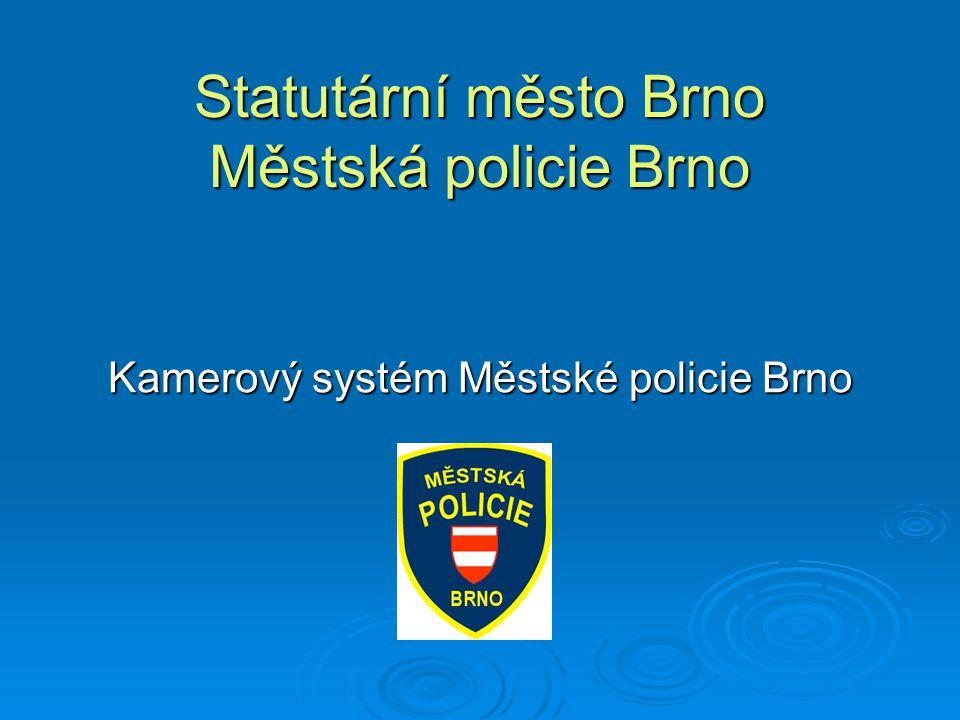 Statutární město Brno Městská policie Brno