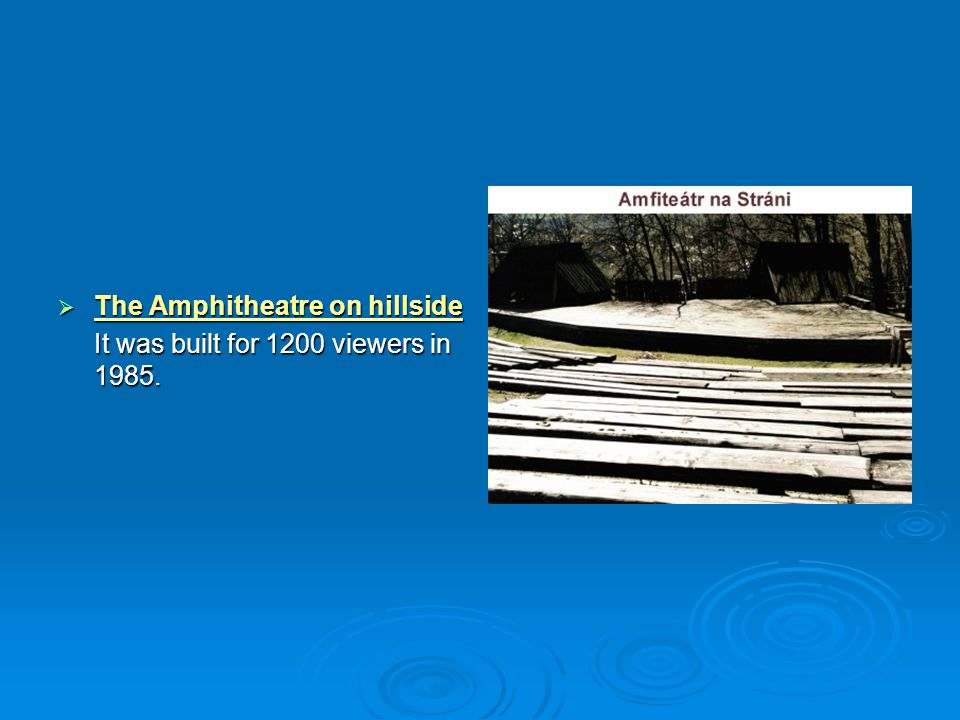 The Amphitheatre on hillside