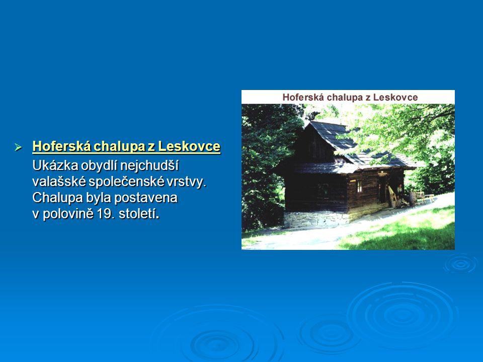 Hoferská chalupa z Leskovce
