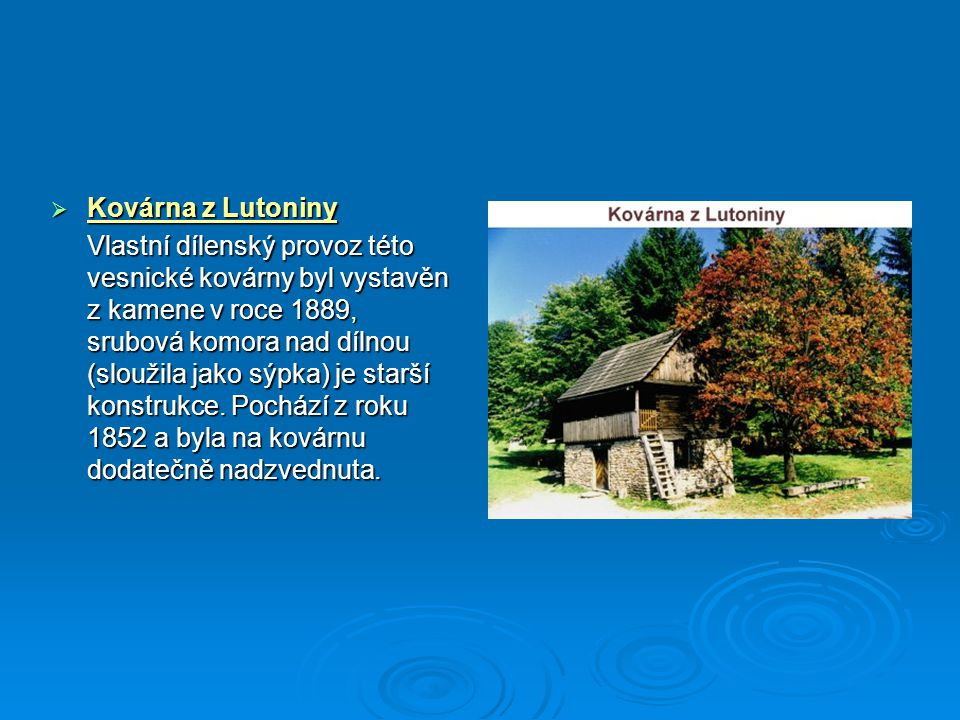 Kovárna z Lutoniny