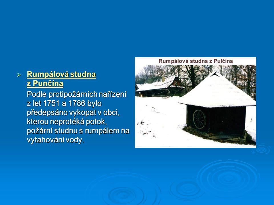 Rumpálová studna z Punčína