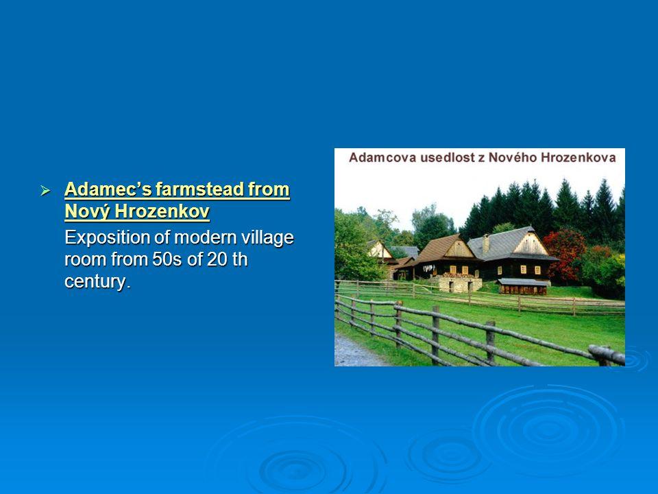 Adamec's farmstead from Nový Hrozenkov