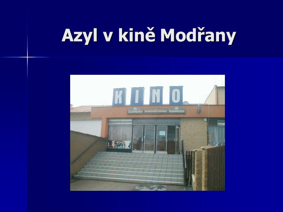 Azyl v kině Modřany