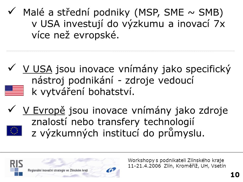 Malé a střední podniky (MSP, SME ~ SMB)