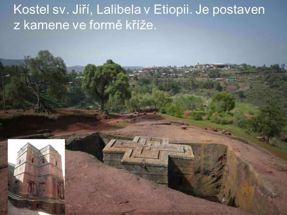 Kostel sv. Jiří, Lalibela v Etiopii