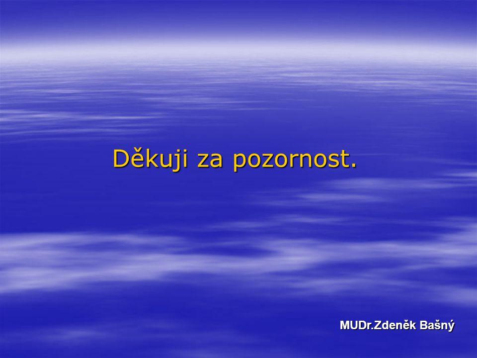 Děkuji za pozornost. MUDr.Zdeněk Bašný