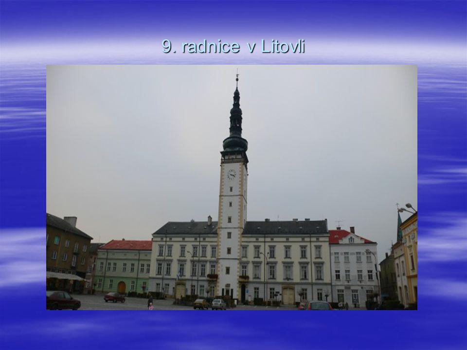 9. radnice v Litovli