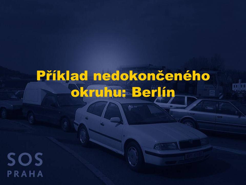 Příklad nedokončeného okruhu: Berlín