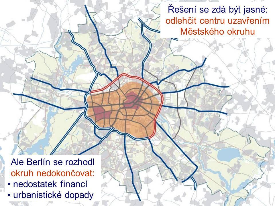 Řešení se zdá být jasné: odlehčit centru uzavřením Městského okruhu