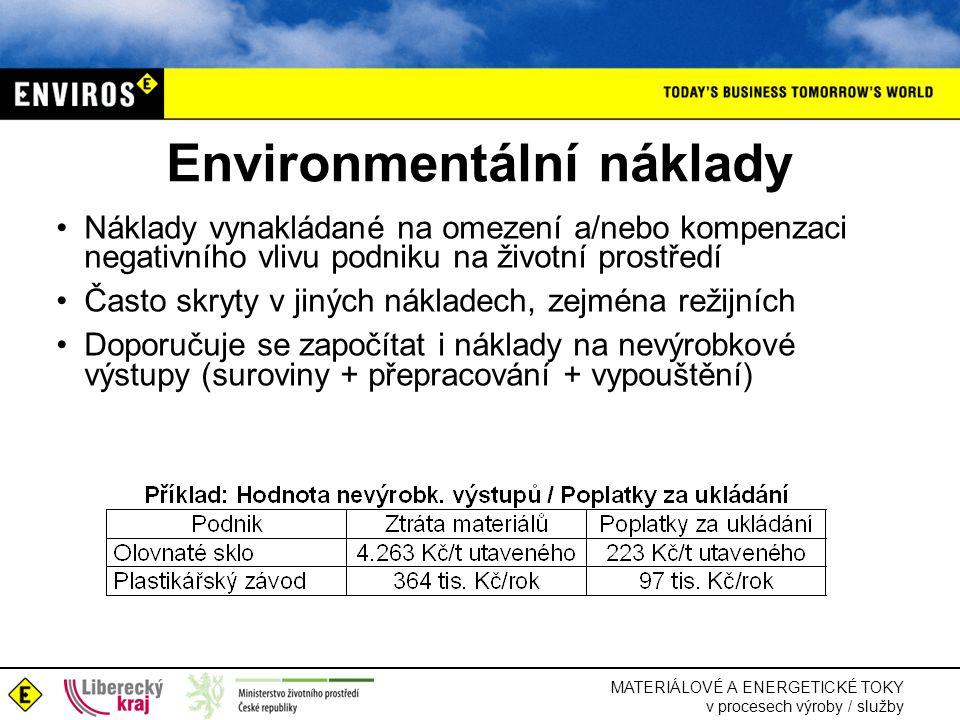 Environmentální náklady