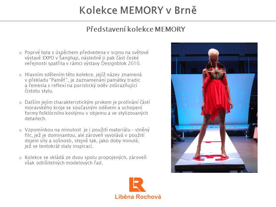 Představení kolekce MEMORY