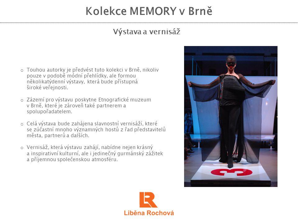 Kolekce MEMORY v Brně Výstava a vernisáž