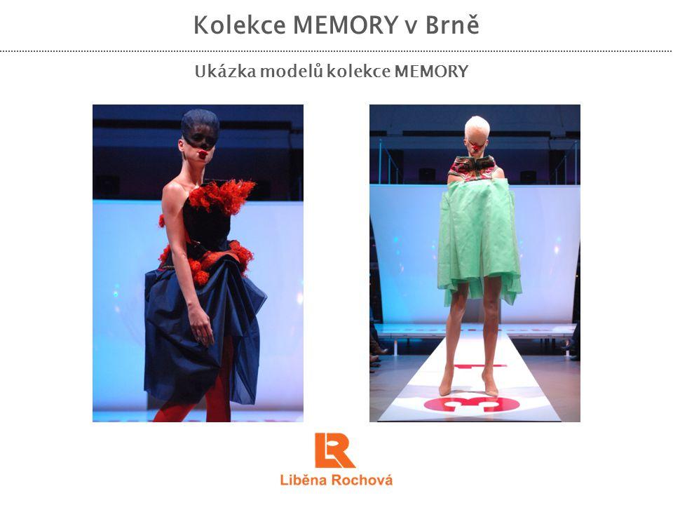 Ukázka modelů kolekce MEMORY