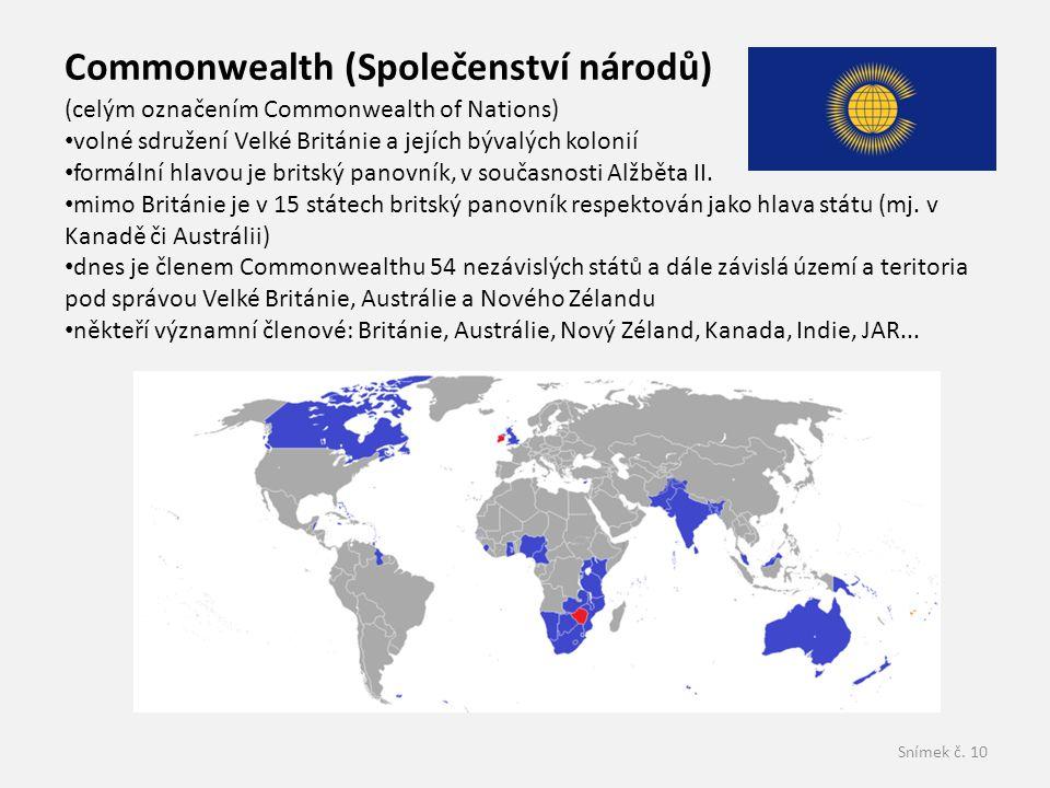 Commonwealth (Společenství národů)