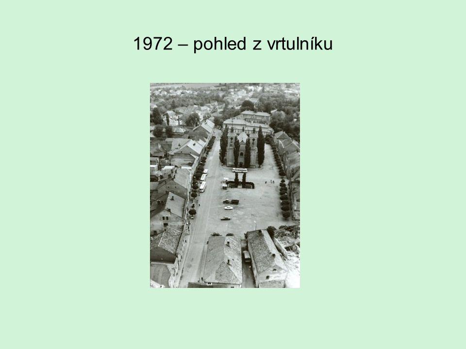 1972 – pohled z vrtulníku
