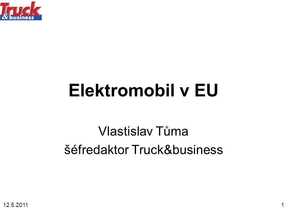 Vlastislav Tůma šéfredaktor Truck&business