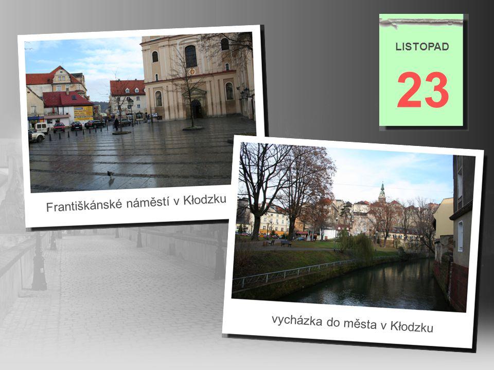 23 Františkánské náměstí v Kłodzku vycházka do města v Kłodzku