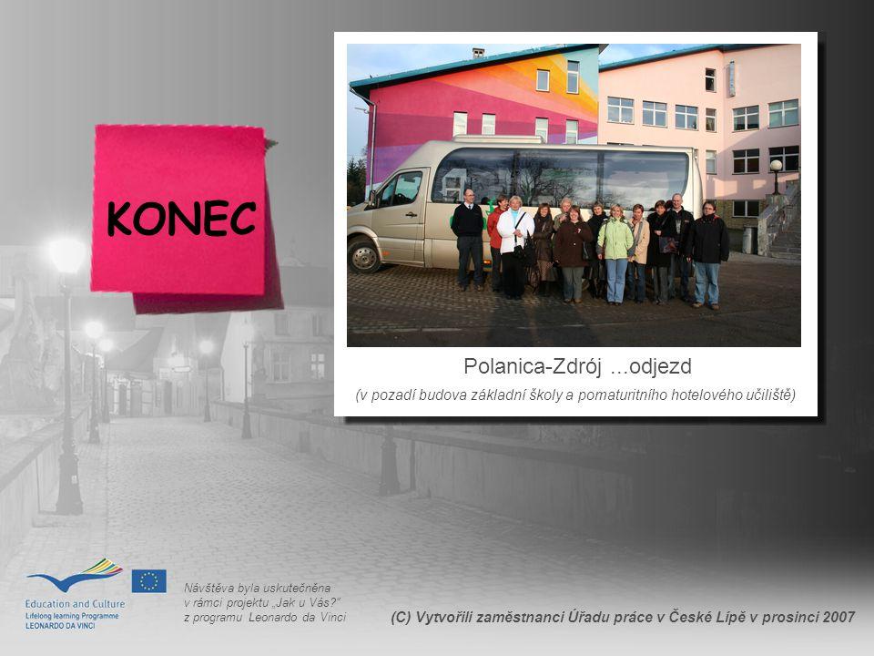 KONEC Polanica-Zdrój ...odjezd