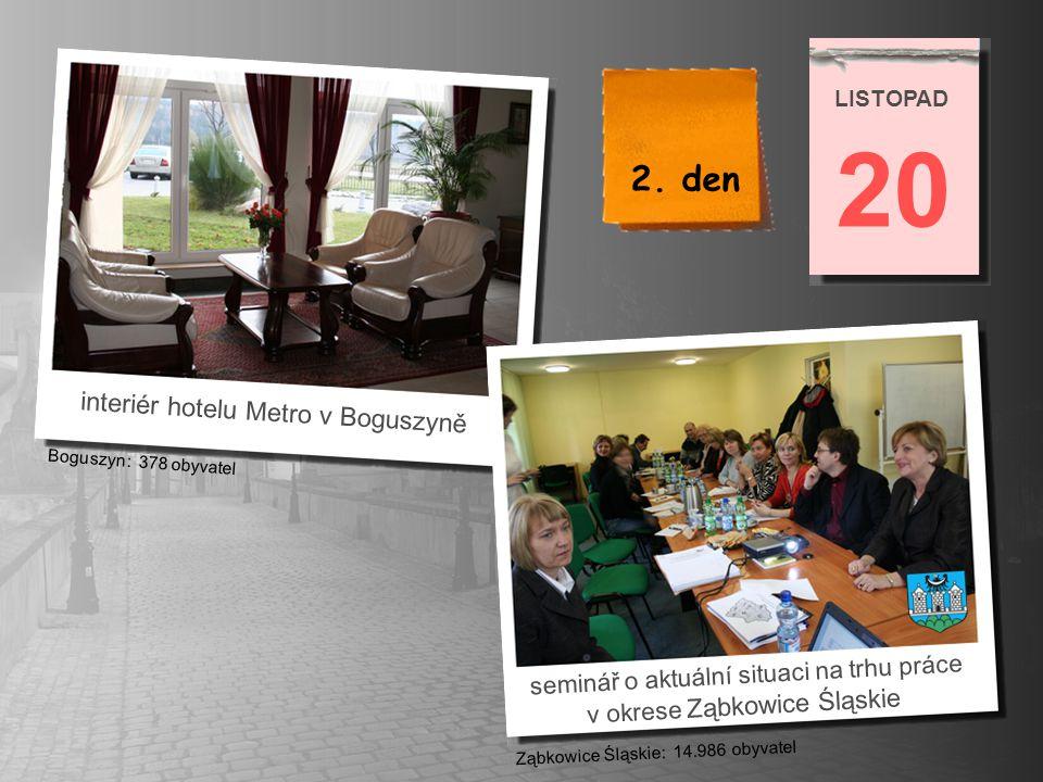 20 2. den interiér hotelu Metro v Boguszyně
