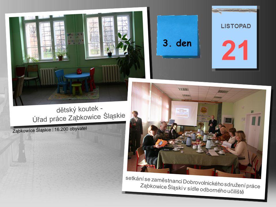 21 3. den dětský koutek - Úřad práce Ząbkowice Śląskie LISTOPAD