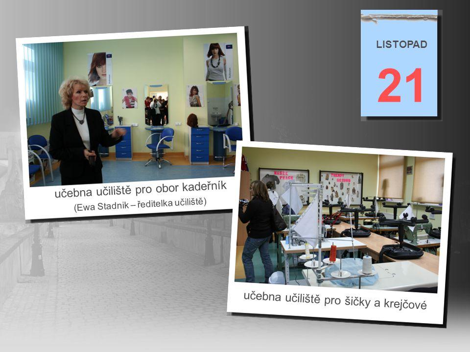 21 učebna učiliště pro obor kadeřník