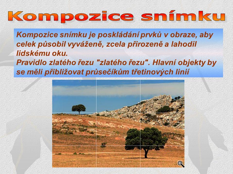 Kompozice snímku