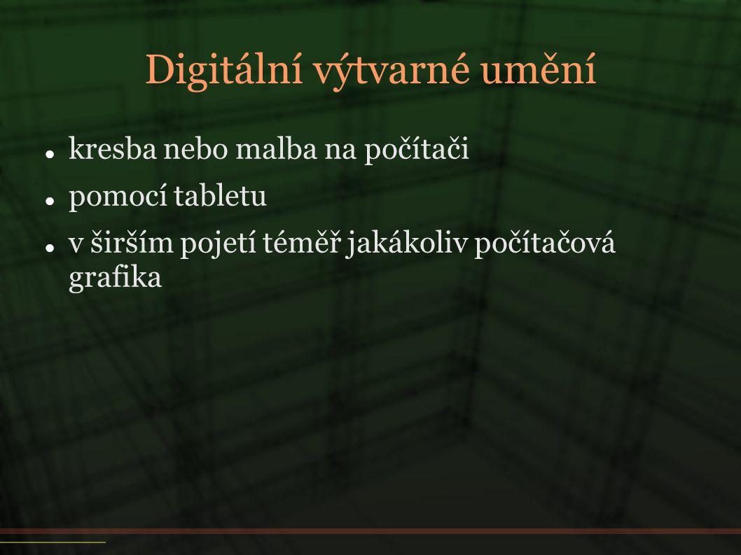 Digitální výtvarné umění