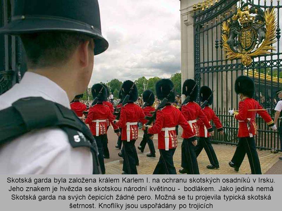 Skotská garda byla založena králem Karlem I