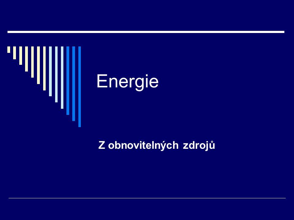 Z obnovitelných zdrojů