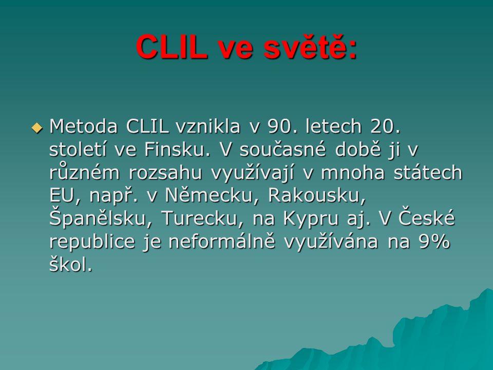CLIL ve světě: