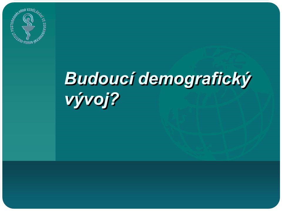 Budoucí demografický vývoj